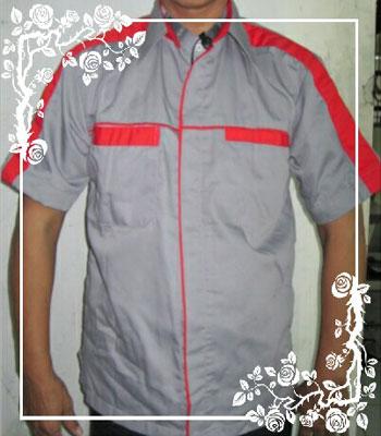Pembuatan seragam kerja perusahaan dengan bordir