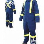 Pembuatan Seragam wearpack atau Coverall, baju safety, baju tambang
