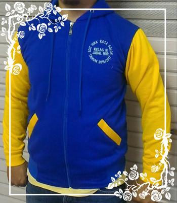 Sweater Jaket SDIT IQRA' Kota Solok Sumatra Barat